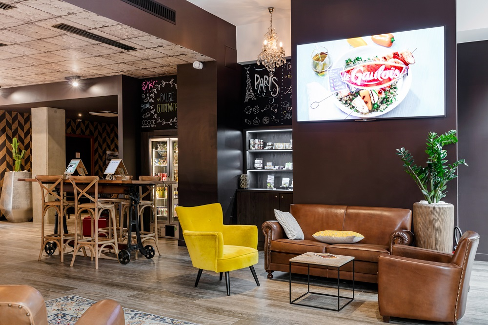 Illustration Mercure Paris Pantin