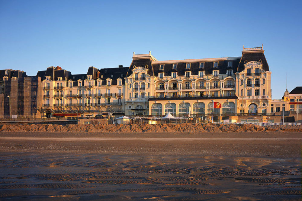 Illustration Grand hôtel Cabourg