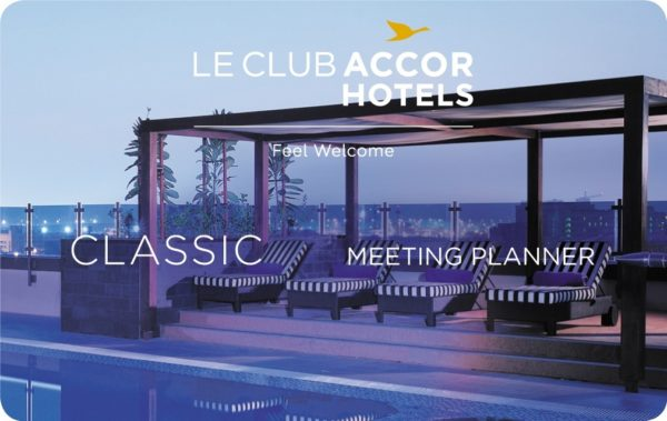La carte Le Club AccorHotels Meeting Planner