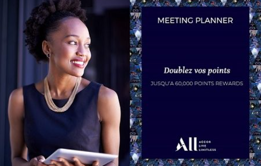 Doublez vos points Recompensa ALL Meeting Planner